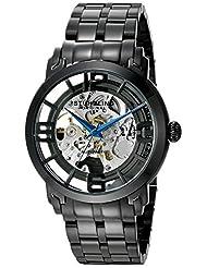 Stuhrling Original Men's 165B2B.335B1 Classic Winchester 44 Elite Automatic Skeleton Black IP Watch
