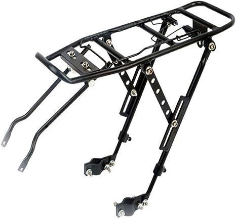 VORCOOL Rack de Bicicleta Trasera Casi Universal Bicicleta Ajustable Ciclismo Cargo portaequipajes Rack Heavy Duty: Amazon.es: Deportes y aire libre