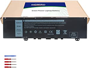 DELL F62G0 Laptop Battery Compatible with Dell Inspiron 13 5370 7370 7373 7380 7386 P83G P83G001 Vostro 13-5370 Series Notebook Replacement for Original F62GO RPJC3 39DY5 11.4V 38Wh/3166mAh 3 Cell