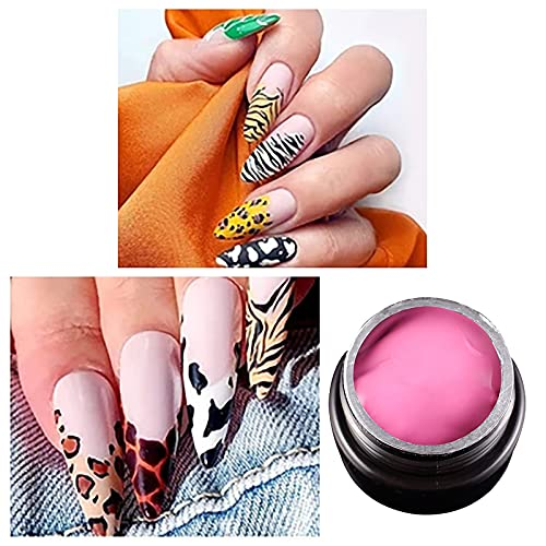 12 Color Manicure Glue Phototherapy Paint, Removable Gel Nail Polish for Starter DIY Nail Art(C)