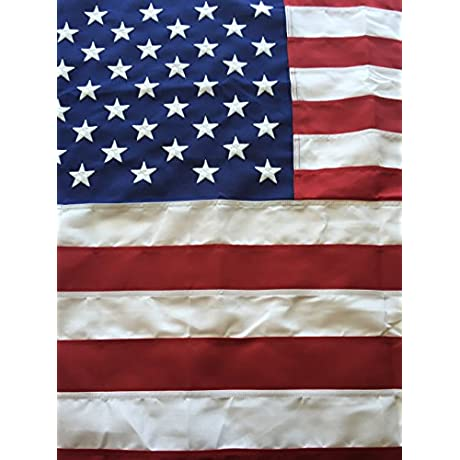 4x6 Best Commercial Grade Polyester American Flag 4 X6 US Flag Made In The USA Embroidered Stars Sewn Stripes By Flags Poles And More