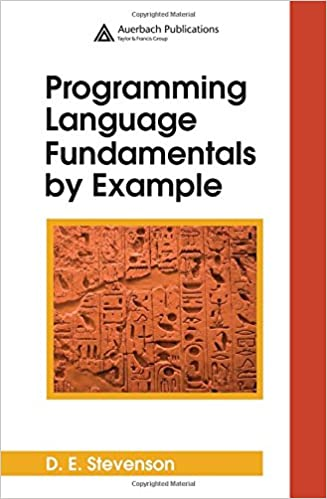 0feb05c6937c9 Programming Language Fundamentals by Example  9780849370168 ...
