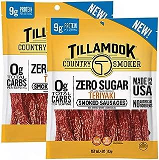 product image for Tillamook Country Smoker Zero Sugar Teriykai Smoked Sausages, 8 Ounces