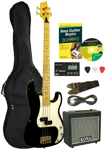 Bass Guitar Starter Pack For Dummies -