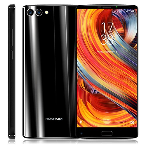 HOMTOM S9 Plus 4GB+64GB 5.99 inch Android 7.0 MTK6750T Octa Core up to 1.5GHz WCDMA & GSM & FDD-LTE (Black)