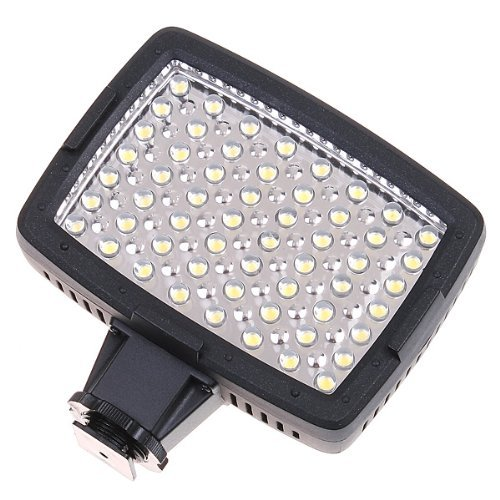 CN-LUX560 on Camera LED Video Light Camcorder Light for Nikon Canon - 1