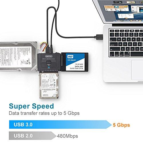 Unitek Usb 3 0 To Ide Amp Sata Converter External Hard Drive