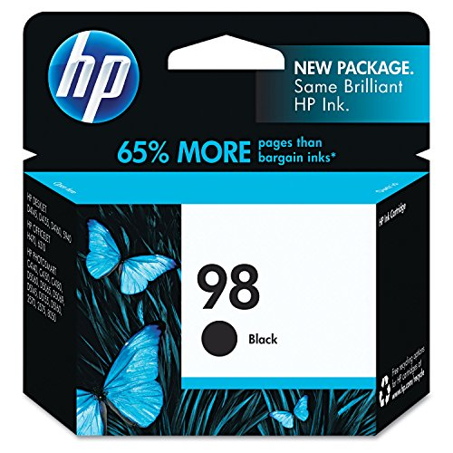 Genuine Compatible HP Premium Quality Black Inkjet Cartridge compatible with the HP (HP 98) C9364WN