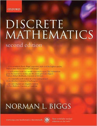 Discrete Mathematics, 2nd Edition: Norman L. Biggs: 9780198507178 ...