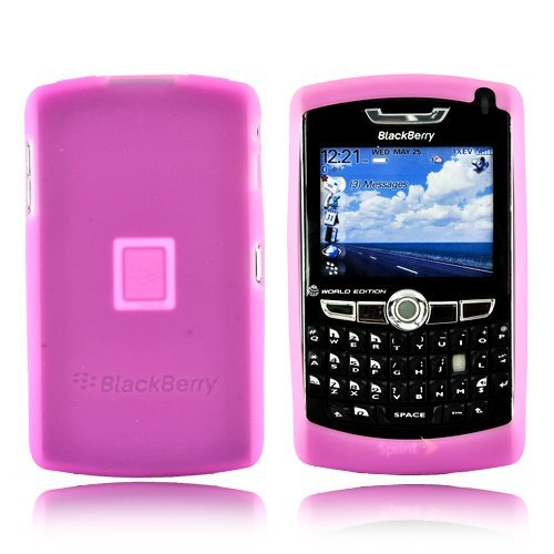 BlackBerry OEM 8800 Silicone Case Skin - Baby Pink