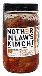 Mother In Law's - Kimchi Vegan Napa Cabbage Table Cut - 16 oz.