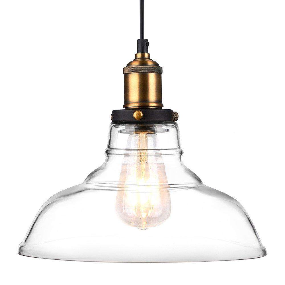 vintage industrial pendant lighting. pendant lights hanging glass ceiling mounted chandelier fixture oak leaf vintage industrial edison lighting amazoncom i