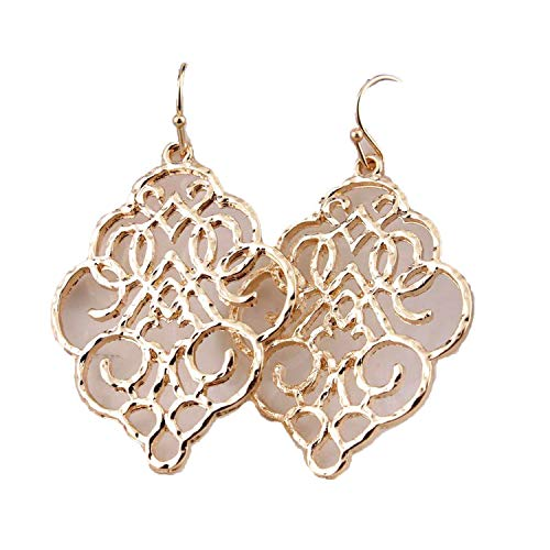 Zinc Alloy Springtime Filigree Earrings Women Inspirational for sale  Delivered anywhere in USA