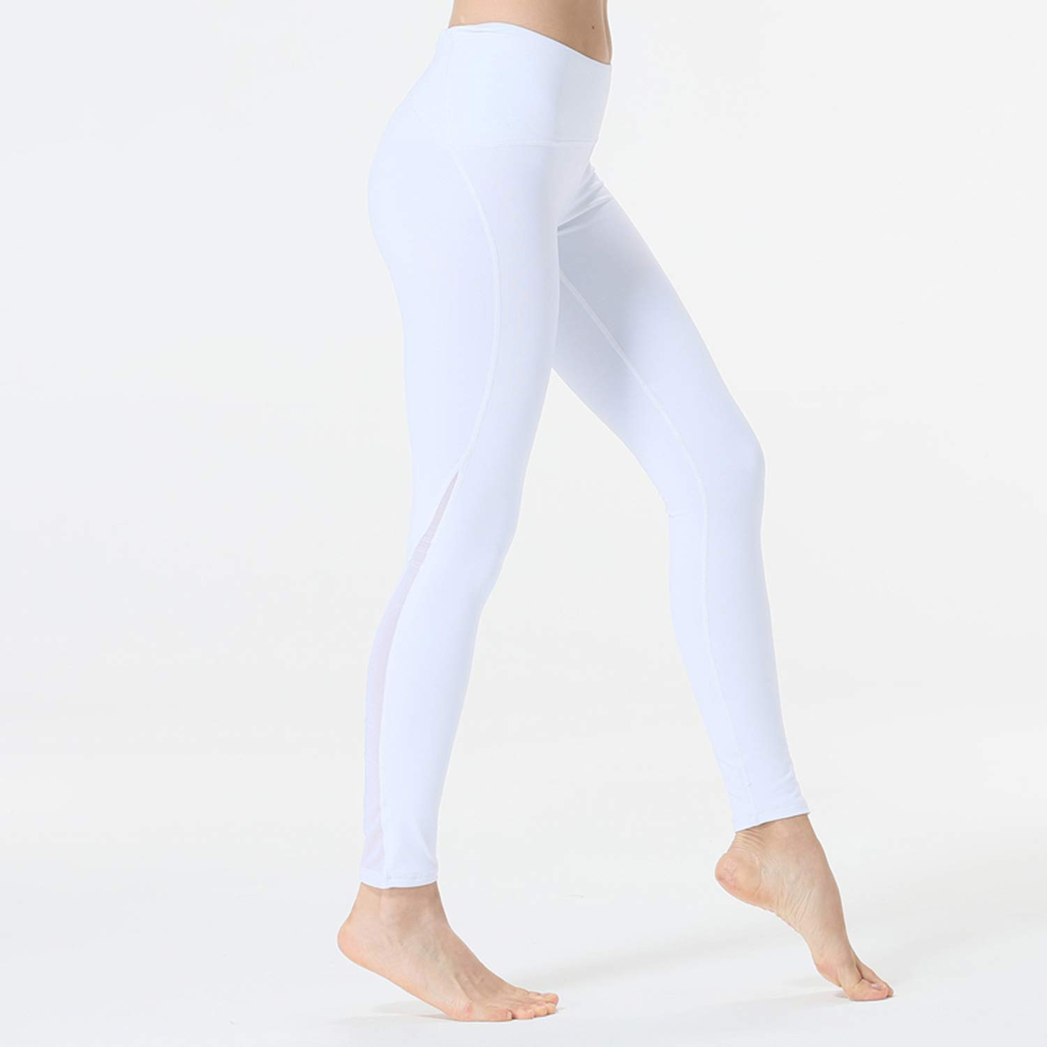 Amazon.com: INDerua Fitness Leggings for Women Sports Mesh ...