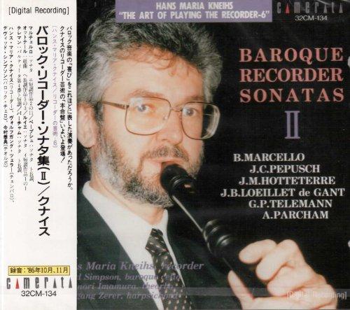 Baroque Recorder Sonatas - Baroque Recorder Sonatas II