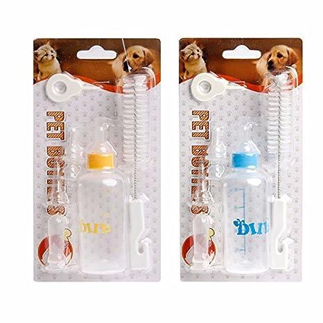Kits de biberones de enfermería para mascotas,Juego de biberón para gatitos,Juego de