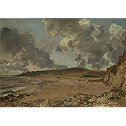 'John Constable Weymouth Bay Bowleaze Cove And Jordon Hill ' Oil Painting, 8 X 11 Inch / 20 X 29 Cm ,printed On Polyster Canvas ,this Replica Art DecorativePrints On Canvas Is Perfectly Suitalbe For Living Room Artwork And Home Decoration And Gifts