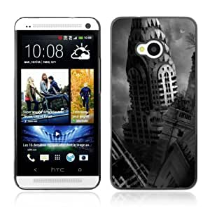 Designer Depo Hard Protection Case for HTC One M7 / Black & White Photograph