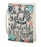 AT001 Set of 2 Be Truly Glad Bible Cover