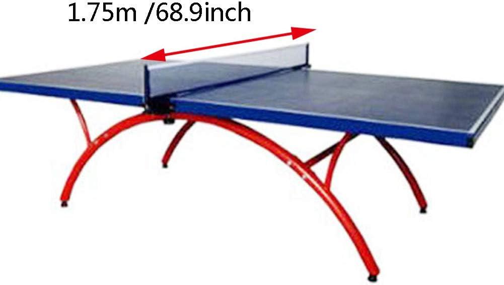 Red profesional de tenis de mesa de nailon de 1,75 m para interiores