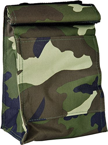 Evolution Camo (Home Essentials Roll Down Camouflage Insulated Lunch Tote)