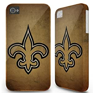 Iphone 5C Case Cover Skin - Sports team New Orleans Saints Wall Brown