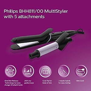 Philips BHH811/00 Hair Multi-Styler Kit Combo Pack (Black)