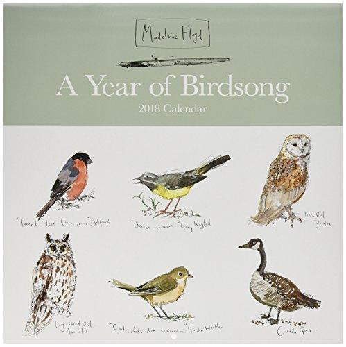 OtterHouse Madeleine Floyd Birds 2018 Wall Calendar (Floyd Bird)