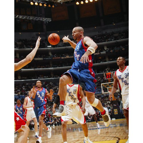 NBA New Jersey Nets Jason Kidd 2004 All Star Photograph, 8x10-Inch by Steiner Sports