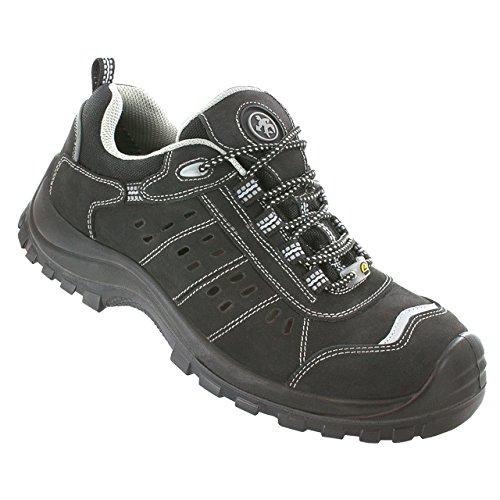 BAAK pep sports chaussures s1P chaussures de sécurité, eSD-noir - 7004, noir, 7004