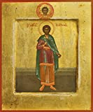St. Justin Martyr Traditional Panel Russian Orthodox icon