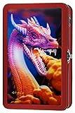 Find-It 3D Metal Supply Box, 8.3'' x 2.5'' x 5.2'', Dragon (FT07490)