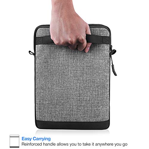 Tomtoc 10.5 Inch Tablet Shoulder Bag Sleeve Case Compatible with 10.5'' iPad Pro | 9.7'' New iPad 2018 | Surface Go | Acer Tab 10 | Samsung Galaxy Tab A 10.1, Apple Pencil & Smart Keyboard Compatible by Tomtoc (Image #3)