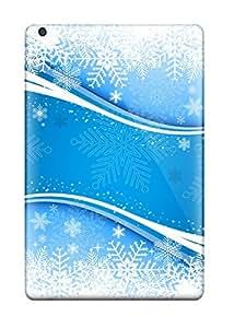 Anti-scratch And Shatterproof Fresh Snow Vector Phone Case For Ipad Mini/mini 2/ High Quality Tpu Case