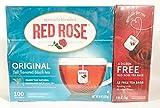 Red Rose Original 112 Tea Bags Plus 1 Ceramic Wade Whimsies Figurine
