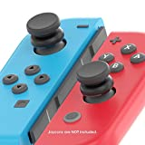 Cheap TechMatte Nintendo Switch ThumbStick Grip, Joy-Con Thumbstick Adapter Grip Caps designed for the Nintendo Switch for better grip, precision aiming perfect for FPS like Doom, L.A. Noire, Skyrim (Grey)