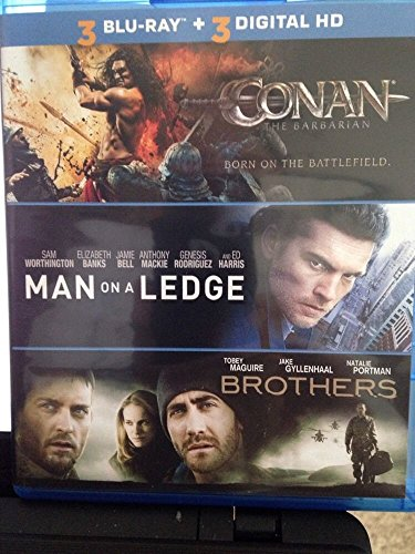 CONAN, MAN ON A LEDGE, BROTHERS: TRIPLE FEATURE