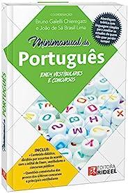 Minimanual de Português. Enem, Vestibulares e Concursos