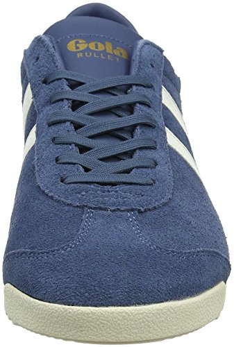 Suede White Off Baltic Baltic White Gola off Blu Bullet Sneaker Uomo Wa 51Inwgq