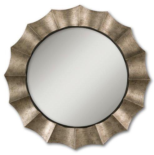 Amazon.com: Antique Silver Leaf Gotham Ronda espejo con ...