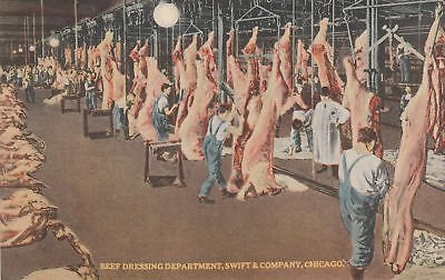 G3009 IL, Chicago Swift Company Beef Dressing Postcard