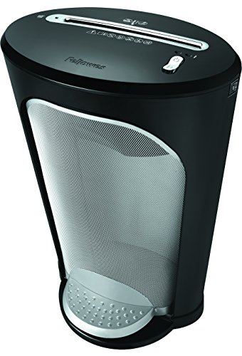 Fellowes Powershred DS-1, 11-Sheet Cross-Cut Paper and Credit Card Shredder with SafeSense Technology (3011001) by Fellowes
