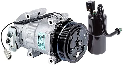 For Jeep Cherokee 1997-2000 OEM AC Compressor w//A//C Drier BuyAutoParts 60-87657R4 New