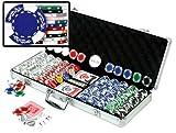 Da Vinci Premium 500 Crown Wheatear Poker Chips Set