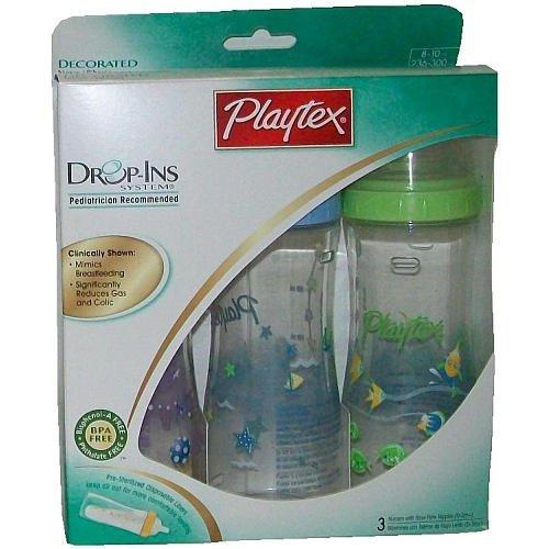 Amazon.com: Playtex Drop-Ins sistema decoradas nursers con ...