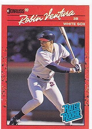 1990 Donruss Robin Ventura Rookie Card At Amazons Sports