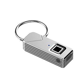 CDSS Inteligente Cerradura De Huellas Digitales, Candado Portátil De Huella Digital De Seguridad Sin Contraseña