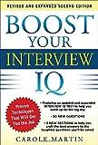 Boost Your Interview IQ, Carole Martin, 0071797467