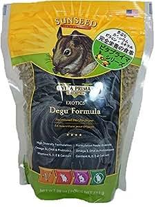 Sun Seed Company Sunscription Vita Exotics Prima Degu Formula, 28-Ounce