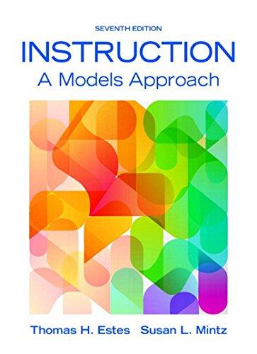 - Instruction: A Models Approach